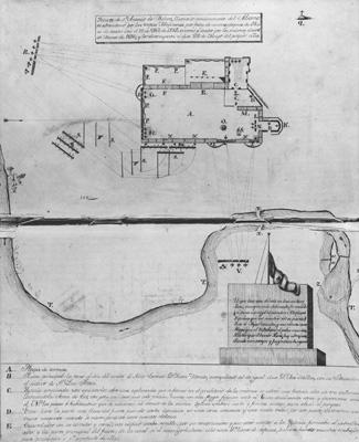 plano del Presidio de San Antonio Texas
